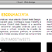 Thumbnail do website Clicart - Web Design