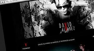 Hotsite David Alvarez